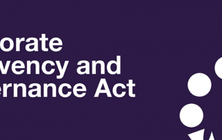 Corporate insolvency governance act